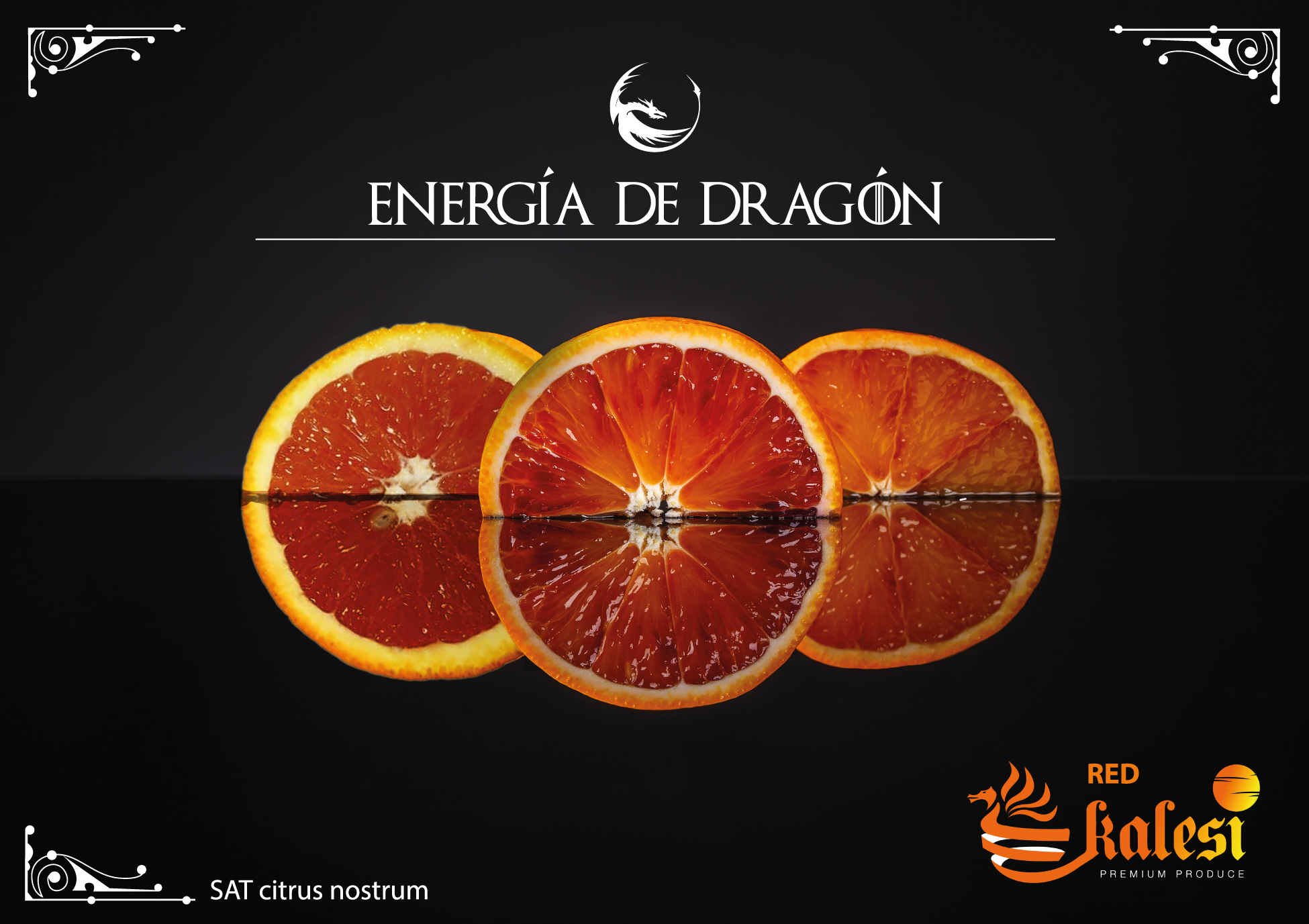 Energía de Dragon por Kalesi Citrus Nostrum